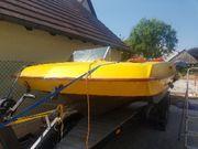 Sportboot Motorboot Dreikieler