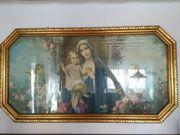 Madonna mit Kind mit Goldenen