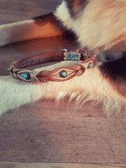 Halsband und Leine