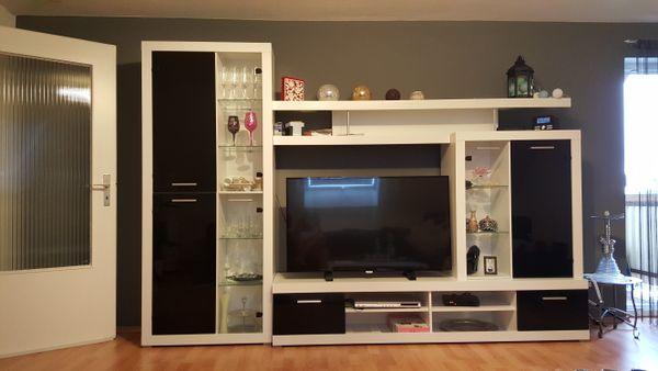 Wohnwand mit LED » Wohnzimmerschränke, Anbauwände