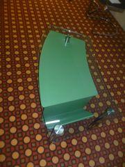 TV Glastisch grün