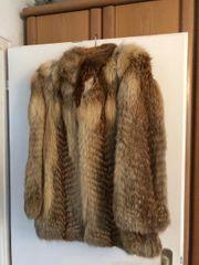 Echt-Pelz-Jacke Größe 40