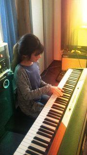 Klavierunterricht auf dem E- Piano