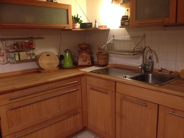 Massivholzküche Buche In Eichenau Küchenzeilen Anbauküchen Kaufen