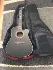 Akustik Gitarre mit