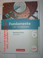 Unbenutzt Fundamente der Mathematik 6