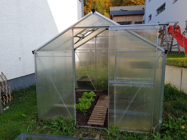 Gewachshaus Mit 8mm Hohlkammerplatten In Dornbirn Gartengerate