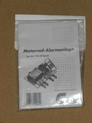 Elektronik Bausatz Motorrad-Alarmanlage