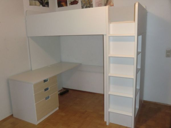 hochbett stuva von ikea in burghausen betten kaufen und. Black Bedroom Furniture Sets. Home Design Ideas