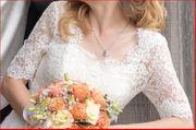 Bolero Jäckchen zum Brautkleid Gr