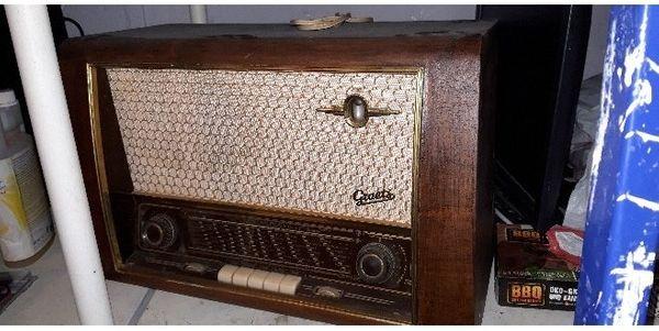 altes radio kaufen altes radio gebraucht. Black Bedroom Furniture Sets. Home Design Ideas